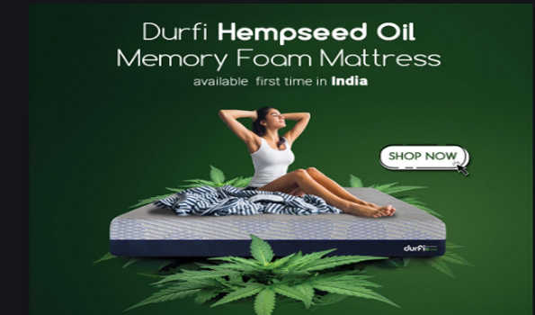 Durfi launches India's first hemp seed oil-infused mattresses