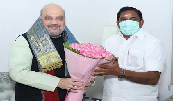 No politics discussed with PM, Amit Shah, no place for Sasi in AIADMK : CM