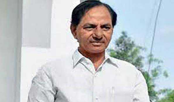 Telangana CM expresses happiness over  Kaleshwaram irrigation project getting completed