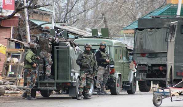 Security forces launch CASO in Pulwama