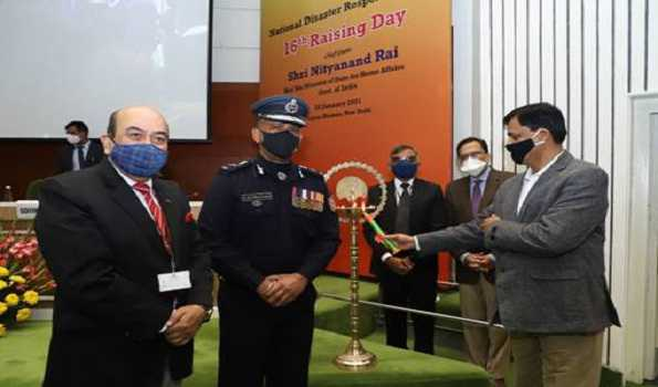 NDRF celebrates its 16th Foundation Day