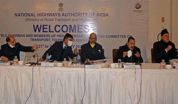All-round development of J&K a major goal of GoI: Parliamentary Standing Committee