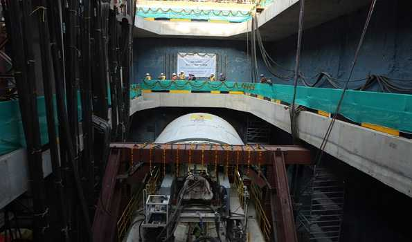 Delhi Metro: First tunneling drive of Ph-4 started at Vikaspuri