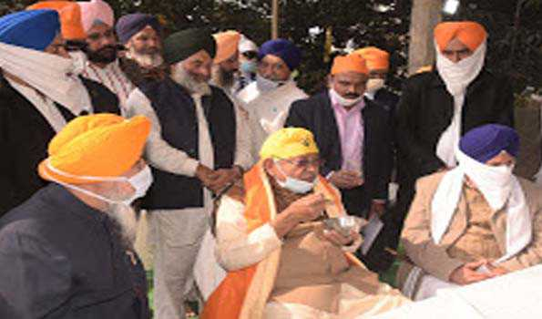 Nitish Kumar directs to accelerate the pace of construction of Gurudwara in Rajgir
