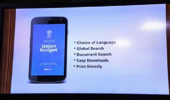Union Budget will be paperless; Finance Minister launches App