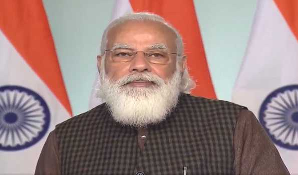 PM Modi to address Davos virtual meet of world leaders Thursday