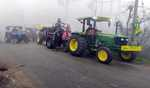 Thousands of farmers leave for Delhi to participate in proposed tractor march on Jan 26
