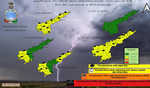 Thunderstorm with lightning likely in North Coastal AP in next 24 hours : Met