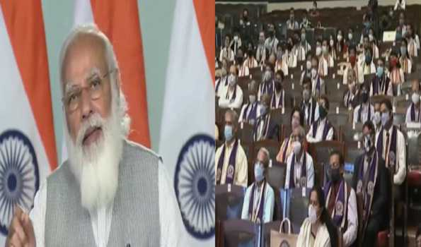 PM Modi gives mantra of Self 3 in his IIT Kharagpur convocation address