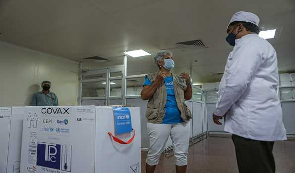 UNICEF begins supplying Indian COVID vaccines under COVAX initiative