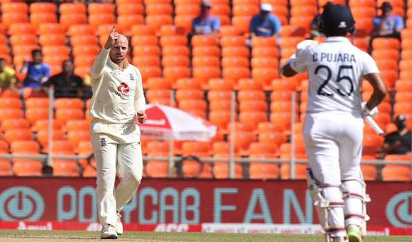 Ahmedabad Test, 2nd day: India 80/4 at Lunch in reply to England's 205