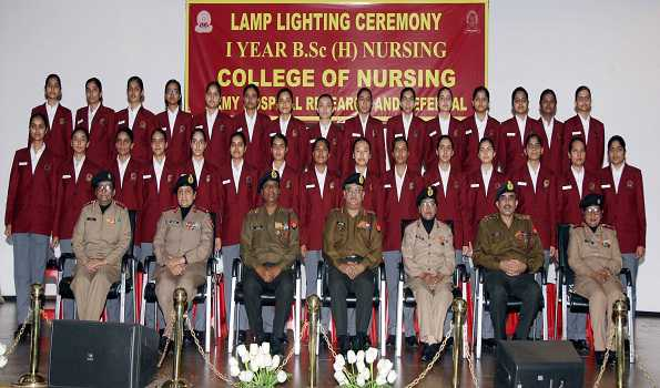 BSc (H) Nursing course commenced at Army's Research & Referral Hospital