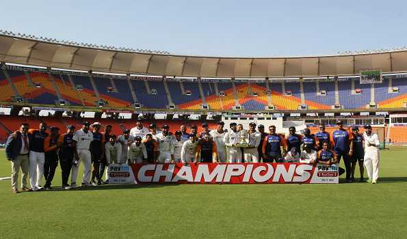 India qualify for Test C'ship Final after defeating England in 4th Test to win series 3-1