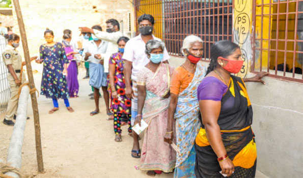 Polling begins on a dull note for ZP, MP elections in AP