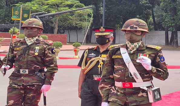 Indian Army Chief General Manoj Mukund Naravane arrives in Dhaka on five-day visit