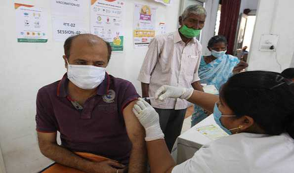 India's COVID-19 vaccinations cross 10.45 cr doses; 30 lakh doses administered on Day 1 of 'Tika Utsav'
