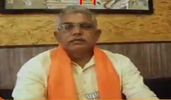 ECI bans Dilip Ghosh from campaigning for 24 hrs