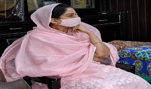 Former Union Minster Harsimrat Kaur Badal tests positive for COVID