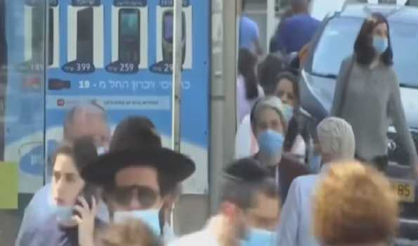 Outdoor mask wearing no longer required in Israel: Health Ministry