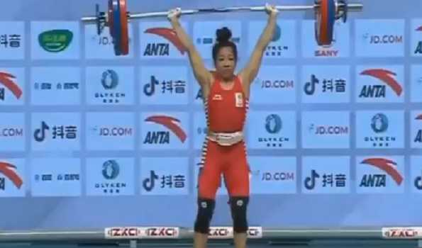Manipur CM lauds Mirabai for creating world record in weightlifting