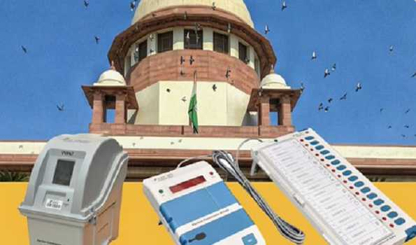 SC junks TMC leader's PIL seeking 100 pc VVPAT verification of votes