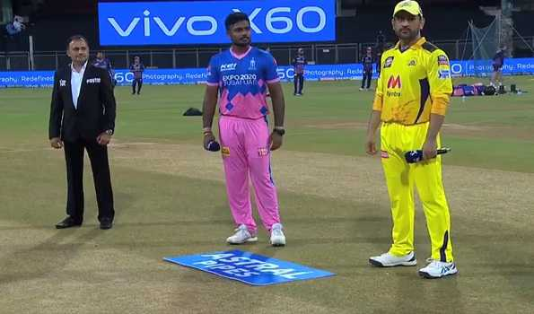 IPL 2021: RR win toss, elect to bowl against CSK