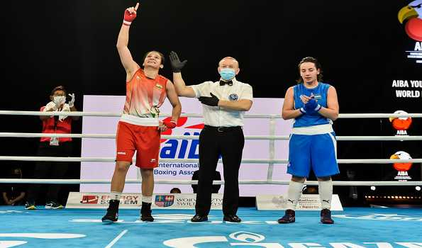 Eight Indian boxers storm into finals of Youth World Championships