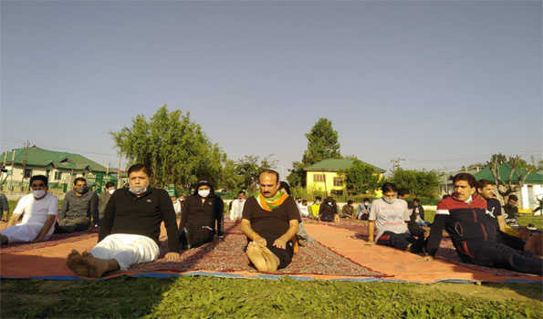Yoga can help to combat prevailing COVID-19 crisis, claims BJP