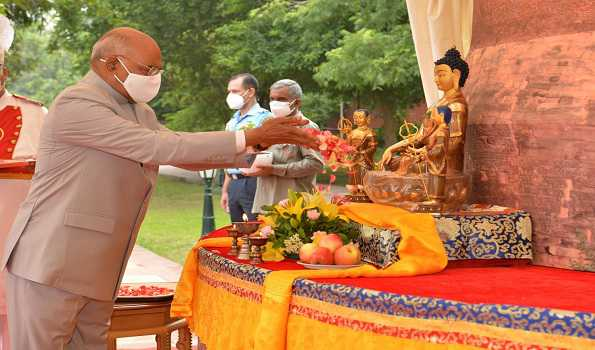 Application of Buddhist values in addressing issues of global concern to help in healing world: Prez