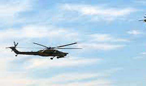Helicopter crashes in Iraq's north-east, all 5 crew members killed