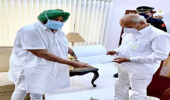 Amarinder Singh resigns as Punjab CM, says will not accept Sidhu for top post