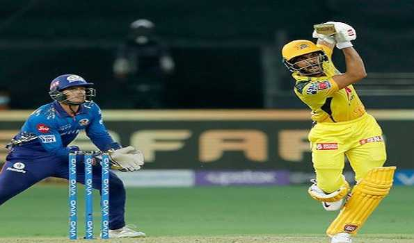IPL 2021: Gaikwad's 88 powers CSK to 156/6 after top-order collapse vs MI