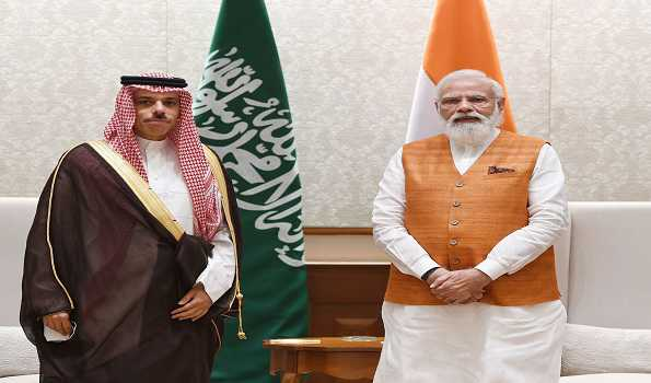 PM Modi, Saudi Foreign Minister exchange views on regional situation, bilateral ties