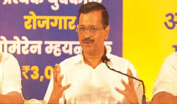 Kejriwal dole out poll promises in Goa, 80 pc job for local if voted to power
