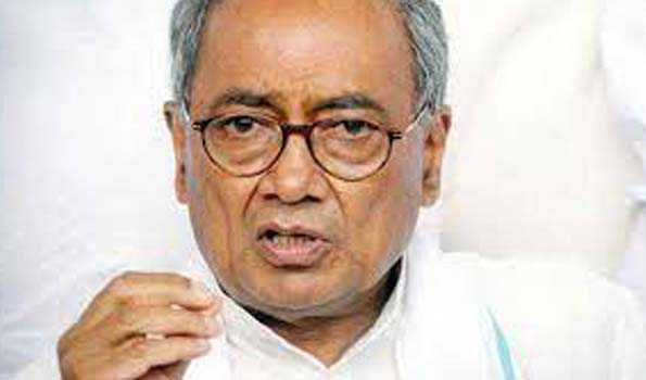 Diggy slams BJP over Home Ministry's RTI reply