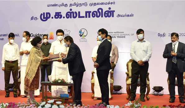 Stalin unveils TN export promotion policy, aims to increase exports to USD 100 bn by 2030